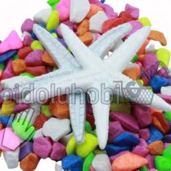 simli plastik deniz yıldızı (10'lu paket)